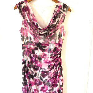 London Times Floral Sheath Dress